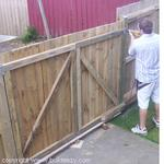 Building A Wooden Fence How To Build A House