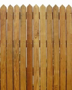 Privacy Cedar Wooden Fence