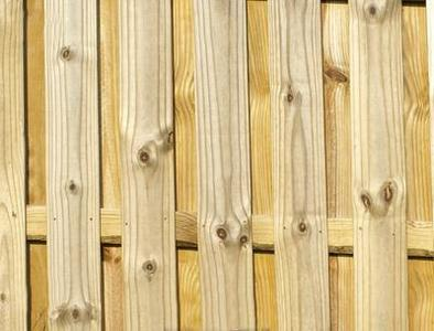 Semi Privacy Wooden Fence