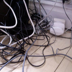 The Easy Way to Organize Your Electrical Cords