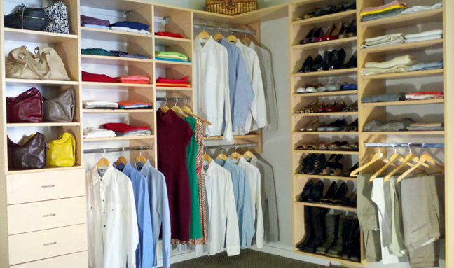 In This Way You Can Use More Efficient Your Closet Space. Otherwise, The  Bottom Space Of Your Closet Remains Unused. Use The Top Rod For The Clothes  That ...