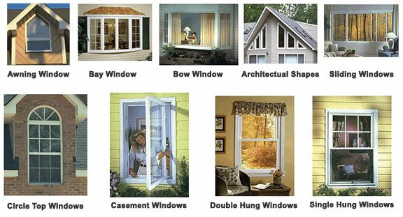 Home windows update or replacement costs how to build a for Different types of doors for houses