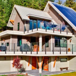 North America First Zero-Energy Home