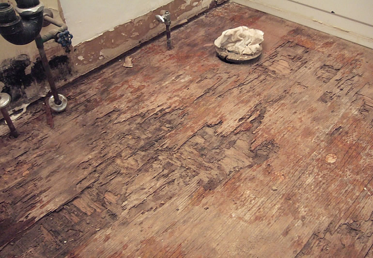 replacing a soggy rotten bathroom sub floor how to