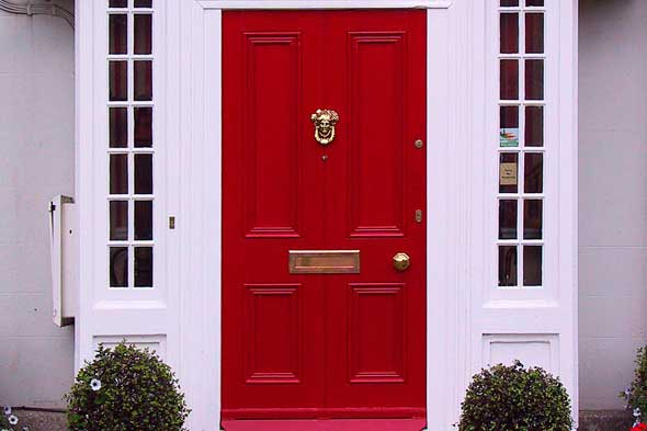 Boost your home value with no major renovation how to - What does a red front door mean ...