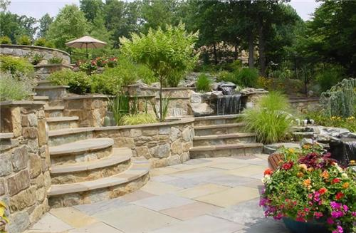 Retaining Wall Backyard Slope : Types of Landscape Retaining Walls  How To Build A House