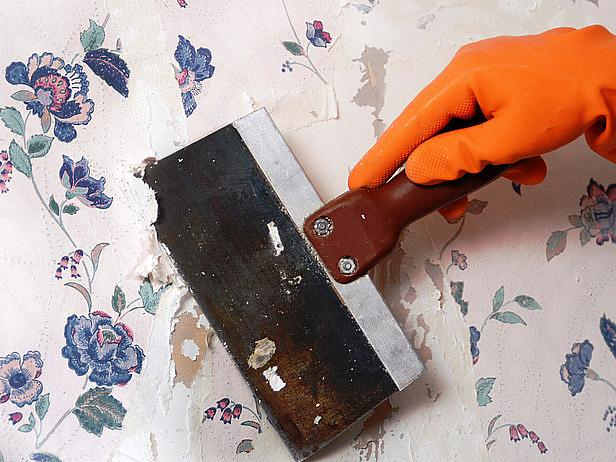 Wallpaper Removal | How To Build A House