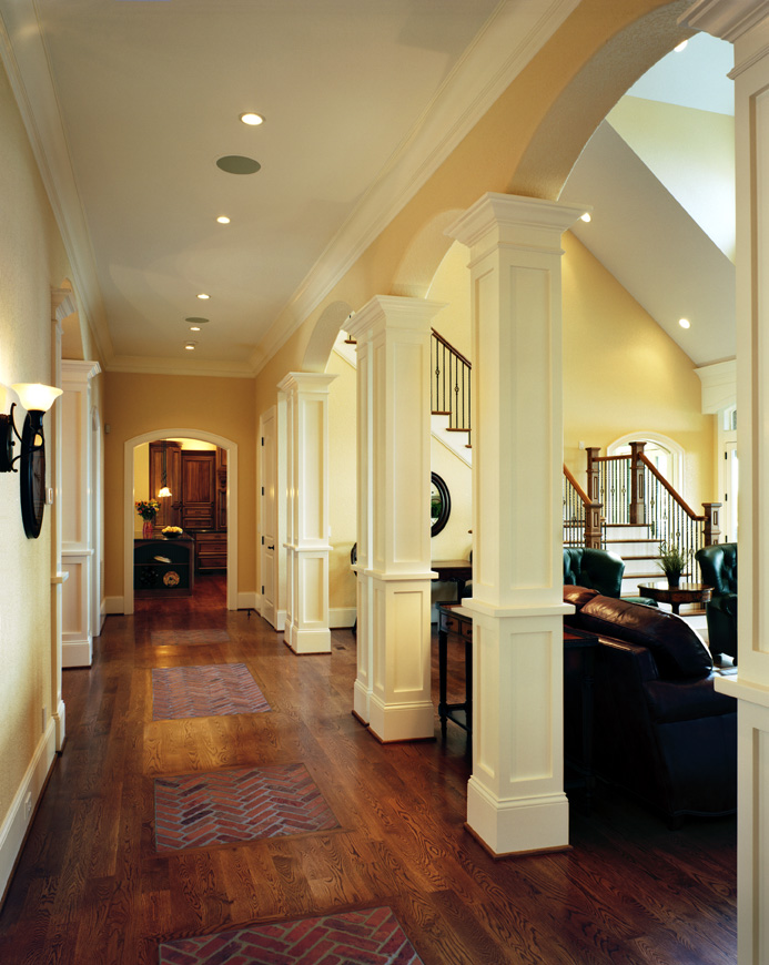 Decorative Columns And Millwork Will Enhance Your Home How To Build A House
