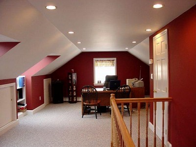 Make A Great Living Space From Your Attic How To Build A