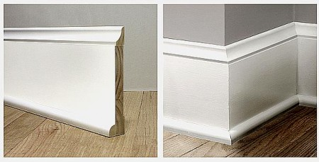 Colonial Baseboard Profile