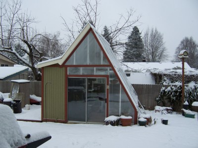 An Winterized Greenhouse