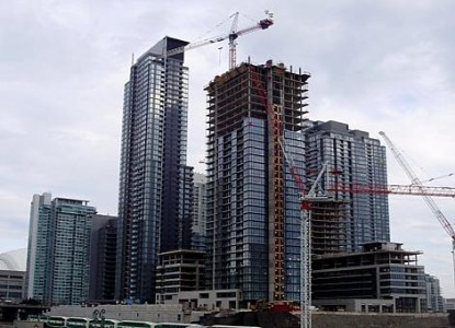 New Condos in Construction