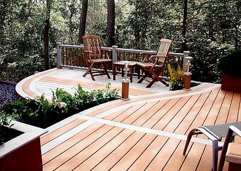 Composite Synthetic Decking Material
