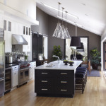 Modern Painted Kitchen