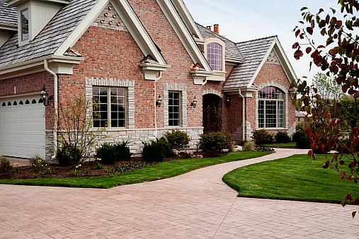 Removing Calcium Deposits From A Red Brick Driveway How