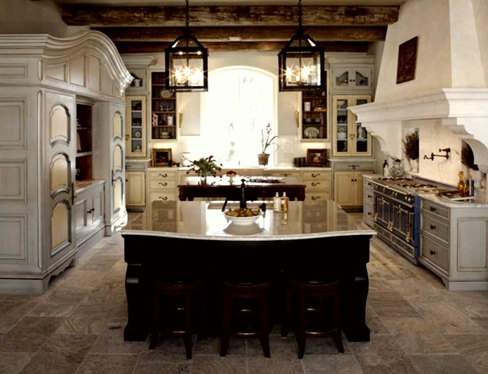 Kitchen In A French Rustic Style How To Build A House