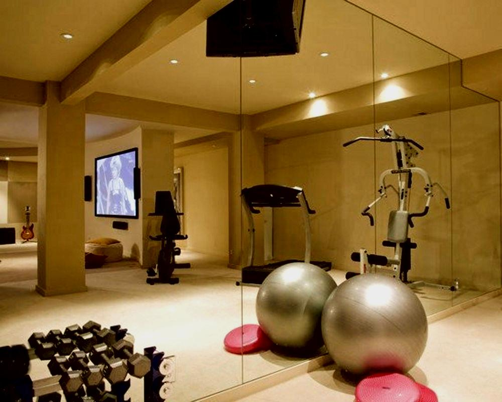 Your Home Stylish Workout Space How To Build A House