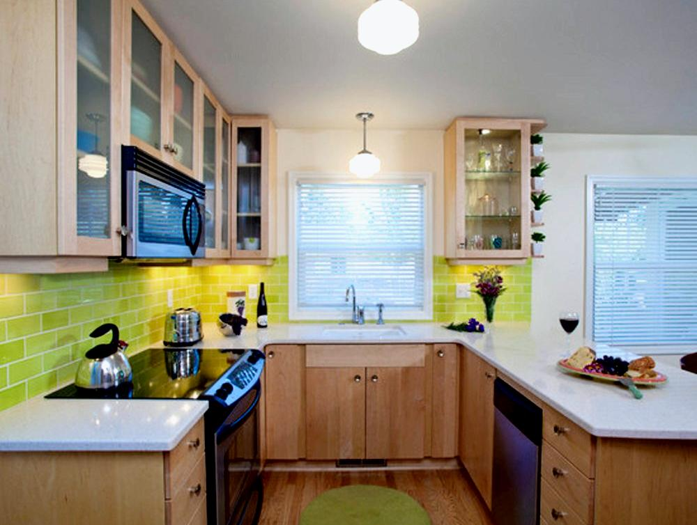 Small square kitchen Small square kitchen designs