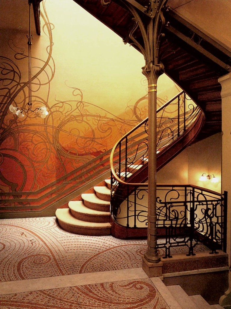 Your home art nouveau interior design how to build a house - Art nouveau architecture de barcelone revisitee ...