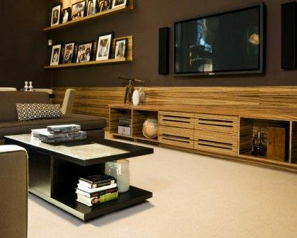 A Living Room Audio Visual System Functional And