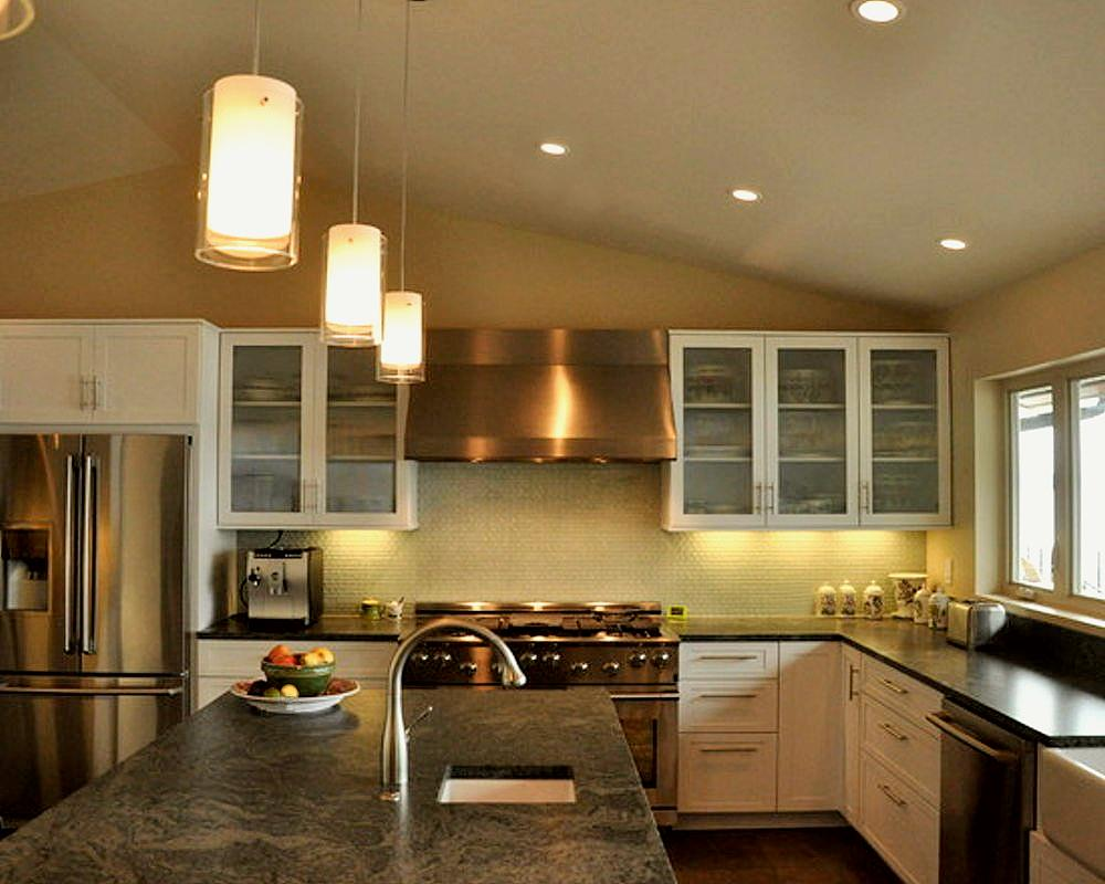 Kitchen island lighting halogen - Pendant Lighting