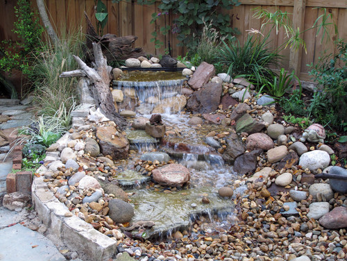 A good choice for your yard or garden pondless for Design of pondless waterfalls