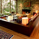 Natural Stone and the Living Room Interior Design