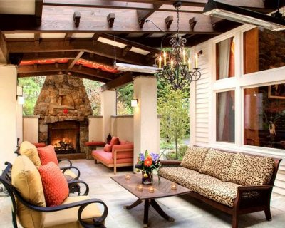 Awesome Mediterranean Patio. Beautiful Outdoor Living Space