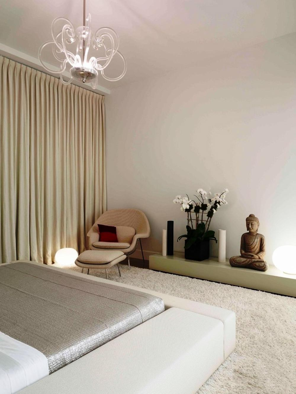 Calm and serenity with zen spaces how to build a house for Bedroom ideas zen