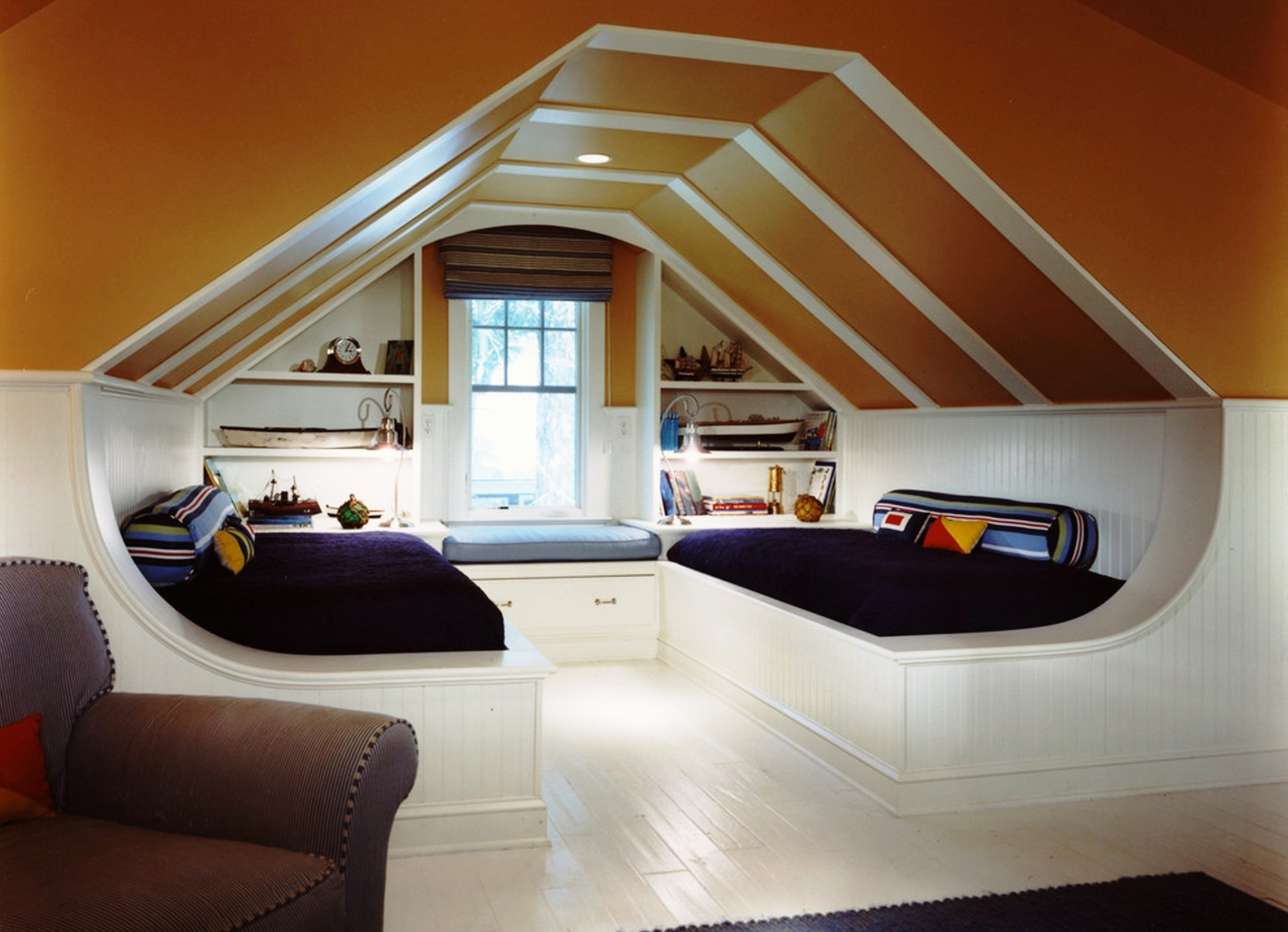 How to turn your home attic into a living space how to for Arredamenti loft