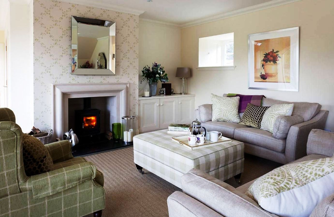 Traditional Cozy Living Room Ideas | How To Build A House