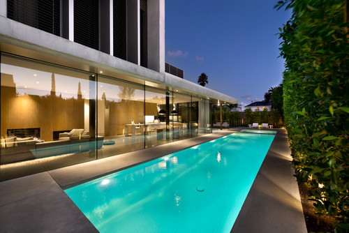 Luxury Modern Pools And Patios How To Build A House