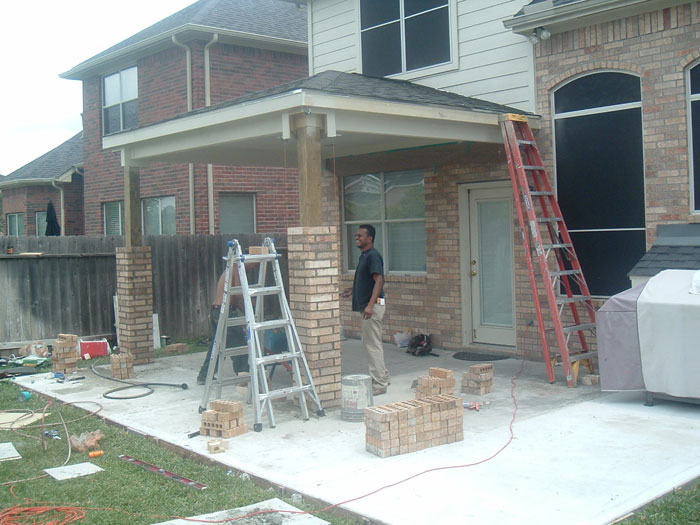 Brick Columns Building Tips How To Build A House
